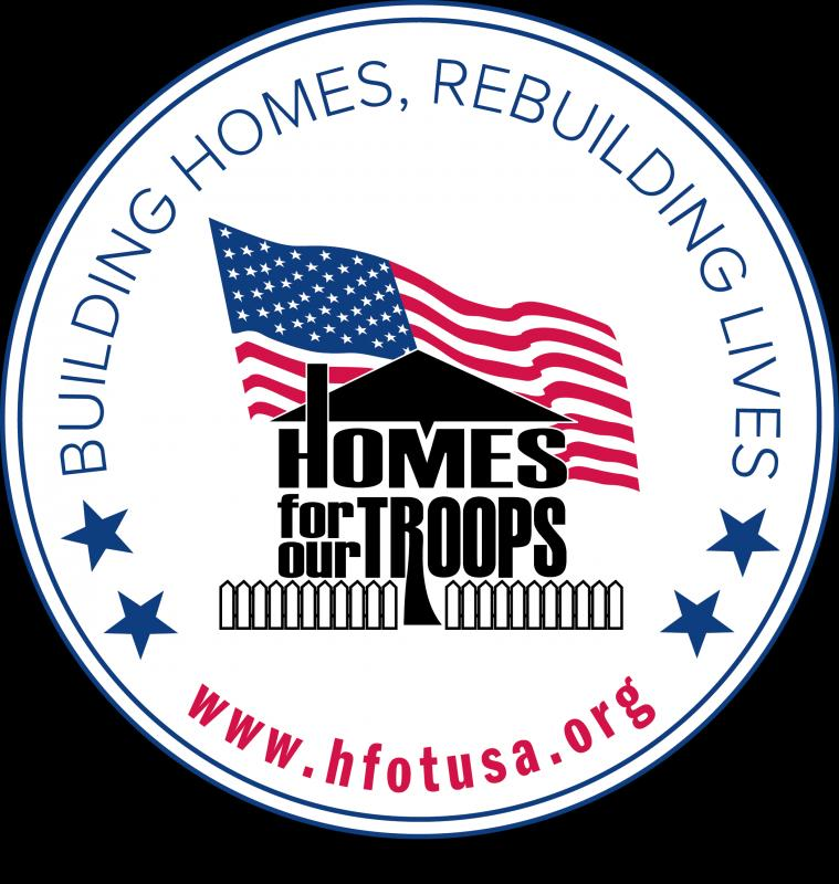 Homes For Our Troops, Inc. Logo