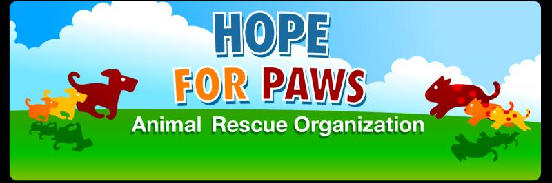 Hope For Paws Logo