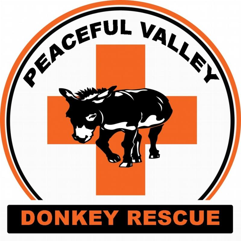 Peaceful Valley Donkey Rescue Inc Logo