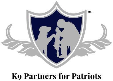 K9 Partners for Patriots, Inc. Logo