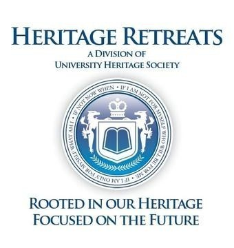 Heritage Retreats Inc dba University Heritage Society Logo