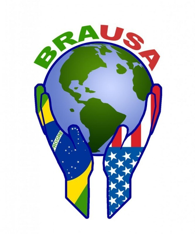 BRAUSA Health and Fitness for the Sighted, Blind and Visually Impaired Logo