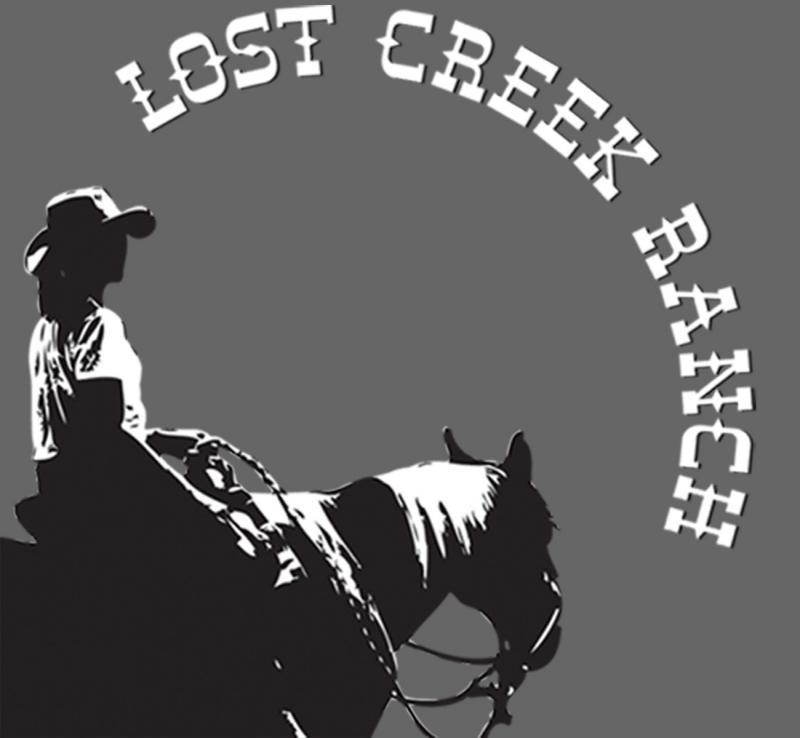 Lost Creek Ranch Camp Confidence Logo