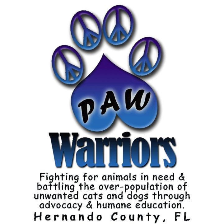 Paw Warriors Inc Logo