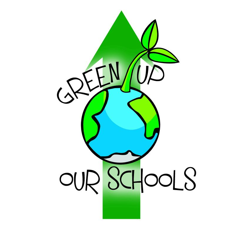 Green Up Our Schools Logo