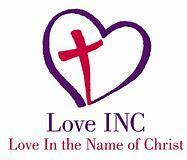 Love In the Name of Christ of Brevard Logo