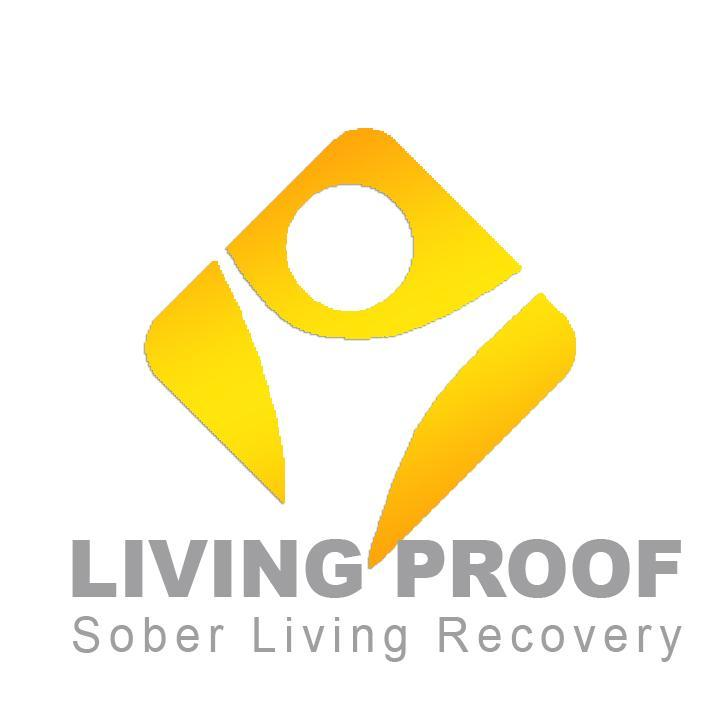 Living Proof* Sober Living Recovery Logo