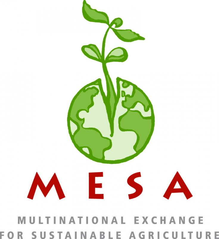 Multinational Exchange for Sustainable Agriculture (MESA) Logo