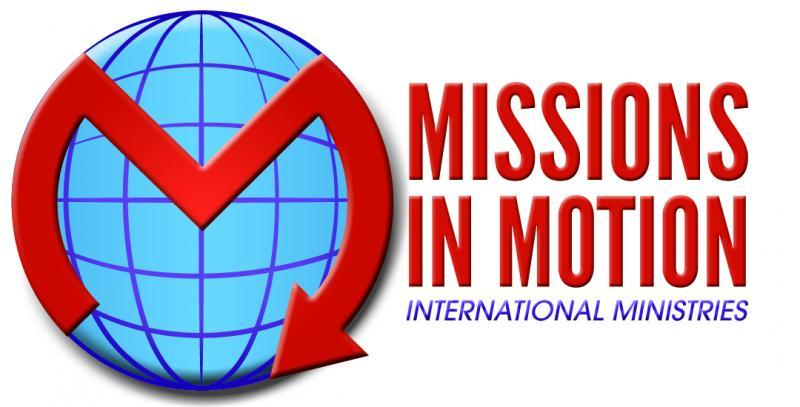 Missions in Motion International Ministries Logo