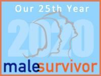 MaleSurvivor: National Organization Against Male Sexual Victimization Logo