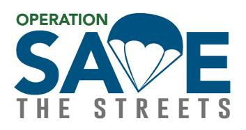 Operation Save The Streets Logo