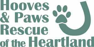 Hooves & Paws Rescue of the Heartland Logo