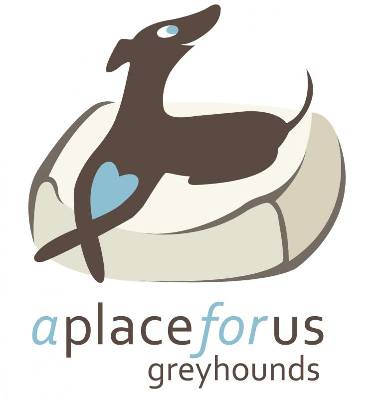 A PLACE FOR US GREYHOUND RESCUE Logo