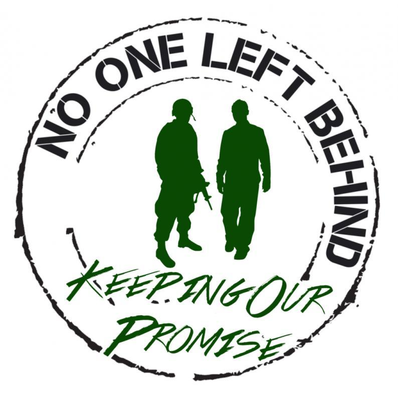 No One Left Behind Inc Logo
