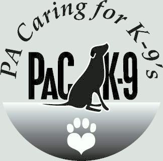 Pa Caring for K-9's Logo