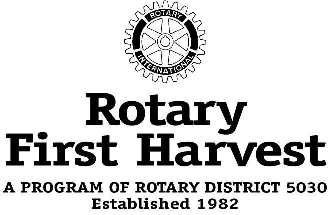 ROTARY FIRST HARVEST Logo