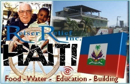 Reiser Relief Inc. - Bringing Hope To Haiti Logo