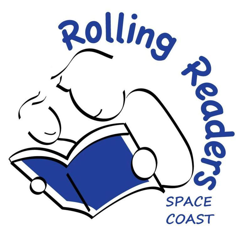 Rolling Readers Space Coast Logo