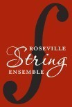 ROSEVILLE STRING ENSEMBLE Logo