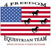 4 Freedom Equestrian Team Logo