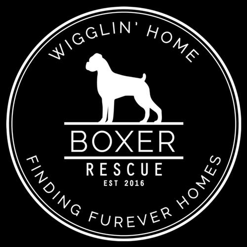 Wigglin Home Boxer Rescue Logo