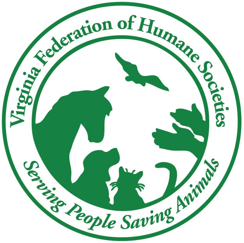 VIRGINIA FEDERATION OF HUMANE SOCIETIES Logo