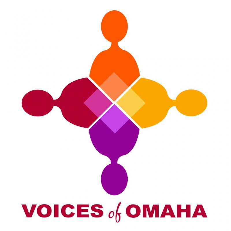 Voices of Omaha Logo