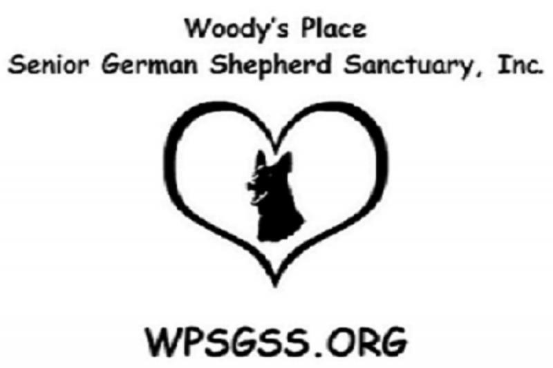 Woodys Place - Senior German Shepherd Sanctuary Logo