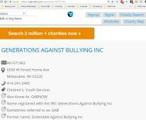 Generations Against Bullying Inc
