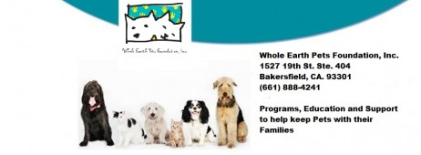 WHOLE EARTH PETS FOUNDATION INC