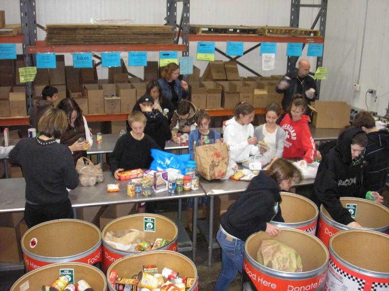 Concord Food Bank Volunteer